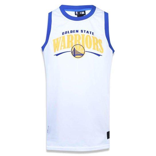 78bd2ff98 Regata Golden State Warriors NBA New Era Masculina - Branco - Compre ...