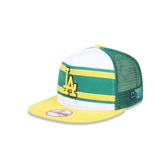 9ea47c2bfce40 Boné 950 A-frame Los Angeles Dodgers MLB Aba Reta New Era - Compre ...