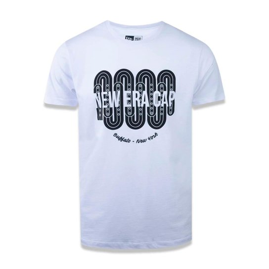 538ce9908f096 Camiseta Branded New Era Masculina - Branco - Compre Agora