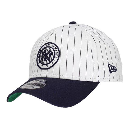 Boné New Era Aba Curva Sn Mlb Ny Yankees Pinstripe Play - Compre ... c66d4e207f2