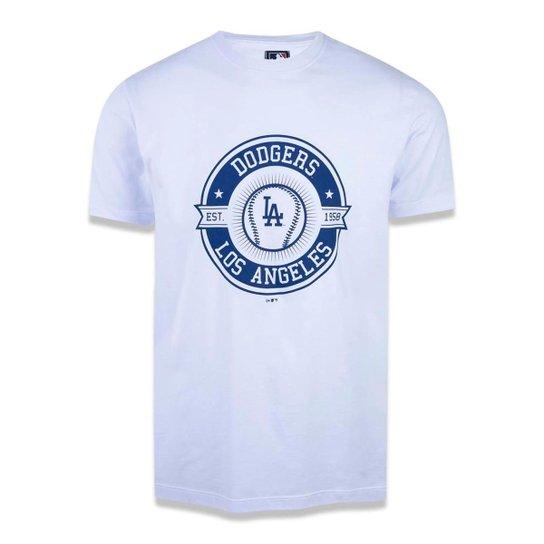 2b9d0f2b6 Camiseta Los Angeles Dodgers MLB New Era - Branco - Compre Agora ...