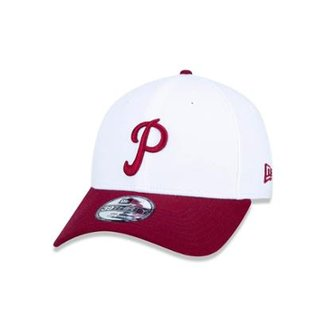 386a04b8689ab Boné 3930 Philadelphia Phillies MLB Aba Curva New Era