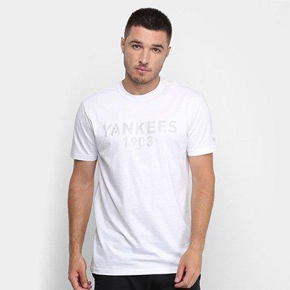 Camiseta MLB New York Yankees New Era Monotone Puff Masculina