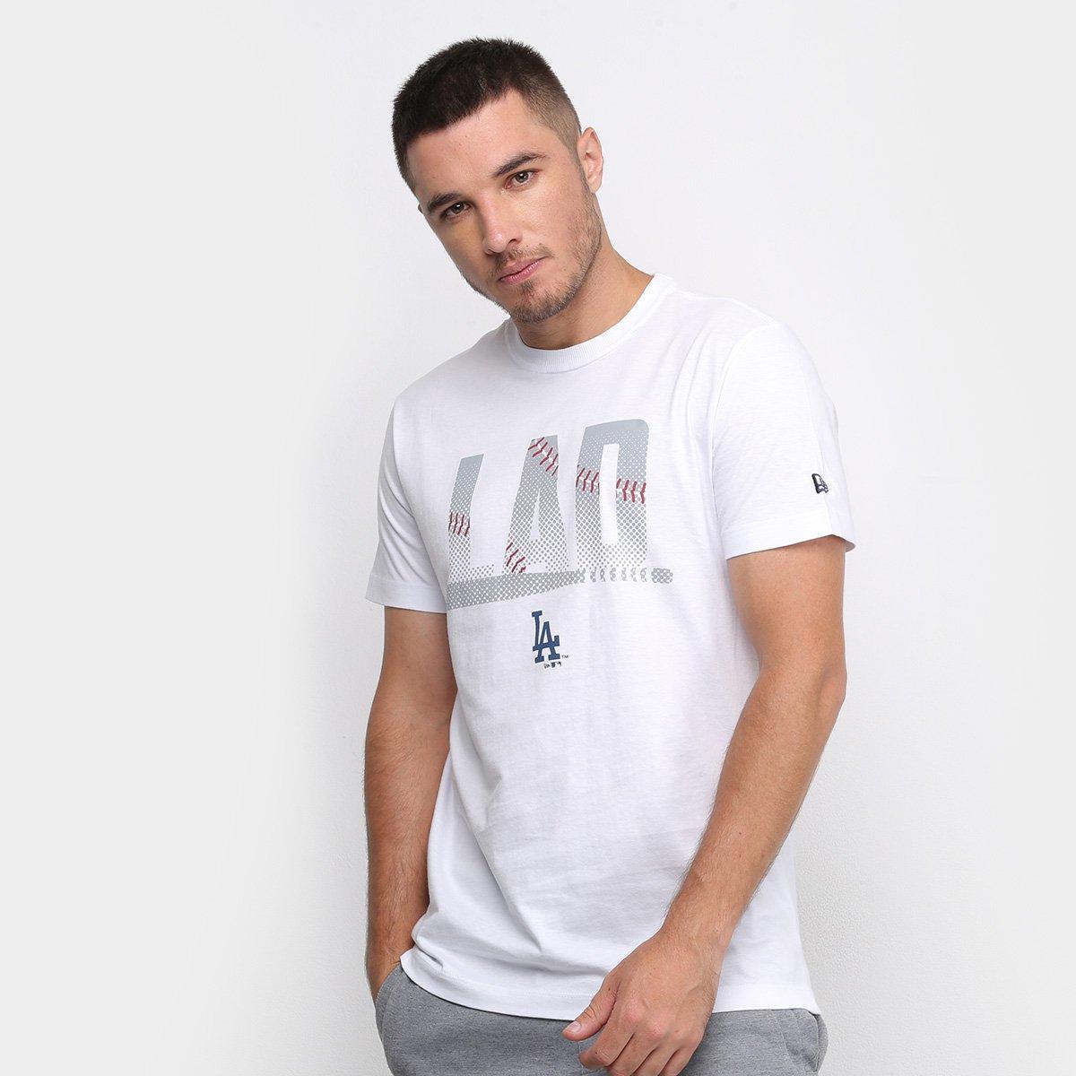 Camiseta New Era MLB Los Angeles Dodgers Masculina