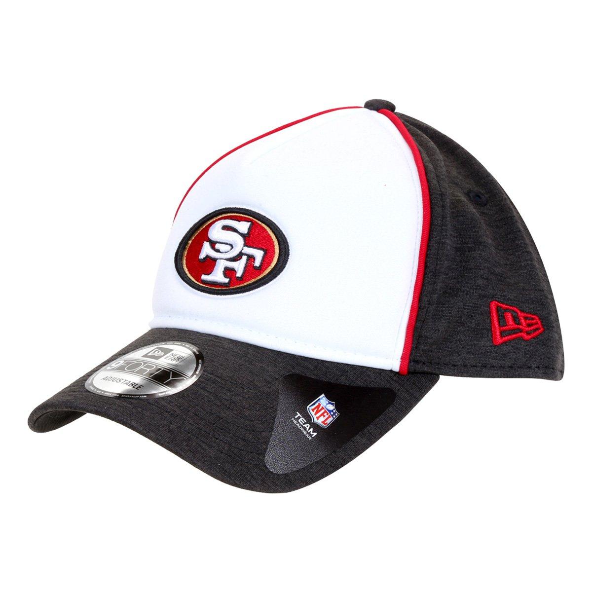 Boné New Era NFL San Francisco 49Ers Aba Curva Snapback 940 Sport Pipesaf