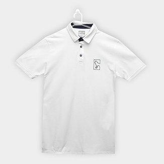 9d1faa436bc46 Camisa Polo Infantil Acostamento Logo Masculina
