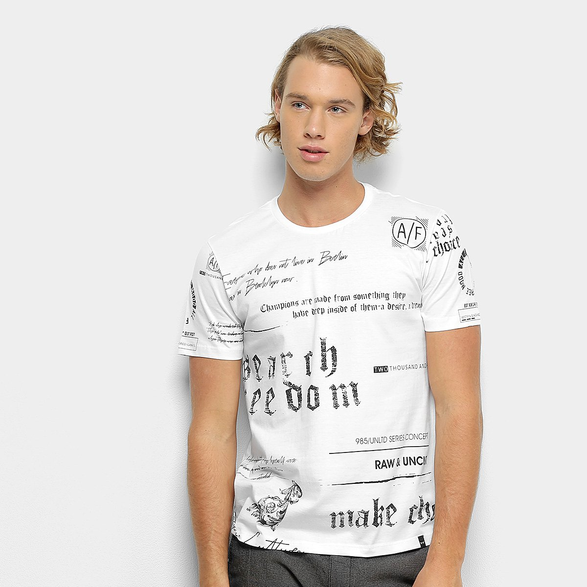 Camiseta All Free Estampada Masculina