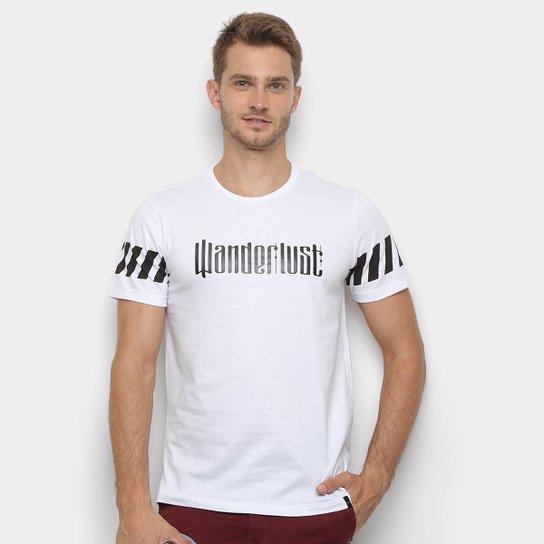 7daebdb114 Camiseta All Free Wanderlust Masculina - Branco - Compre Agora ...