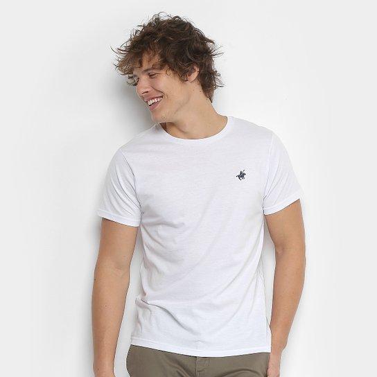 1479521711 Camiseta Polo UP Gola Careca Masculina - Branco