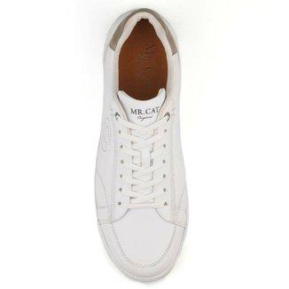b11271e1514 Tênis Couro Mr. Cat Sneaker Light Mouro Masculino