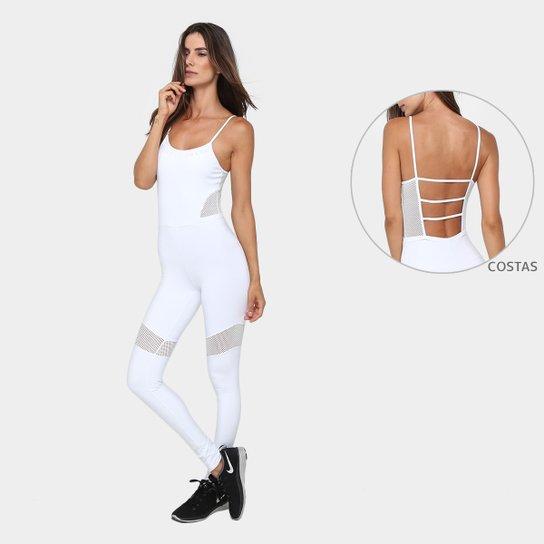78f06ee96 Macacão Colcci Fitness Detalhe Tela Feminino | Netshoes