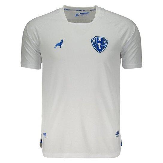 0bf2c1d9b Camisa Lobo Paysandu II 2019 Nº 7 Masculina - Branco - Compre Agora ...