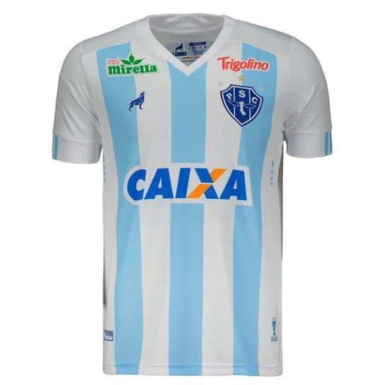 93aedc908 Camisa Lobo Paysandu I 2018 Com Patrocínio Masculina - Compre Agora ...