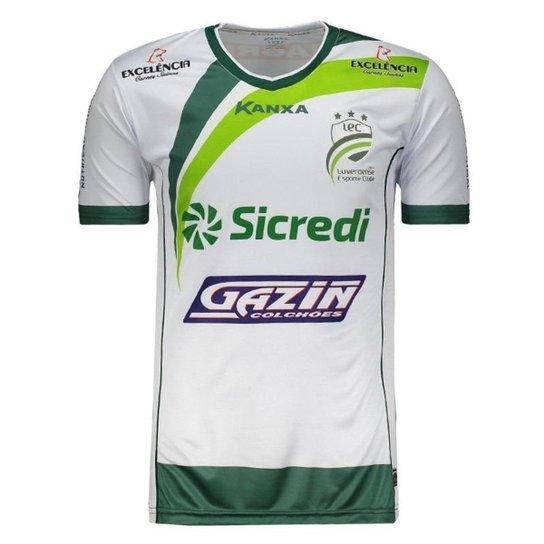 5b08654f1 Camisa Kanxa Luverdense I 2018 Masculina - Branco