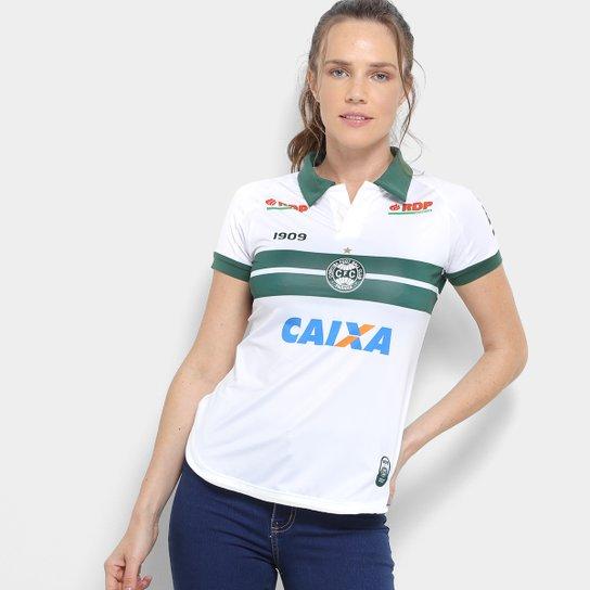 906cdf09cb Camisa Coritiba I 2018 s n° C Patrocínio - Jogador 1909 Feminina ...