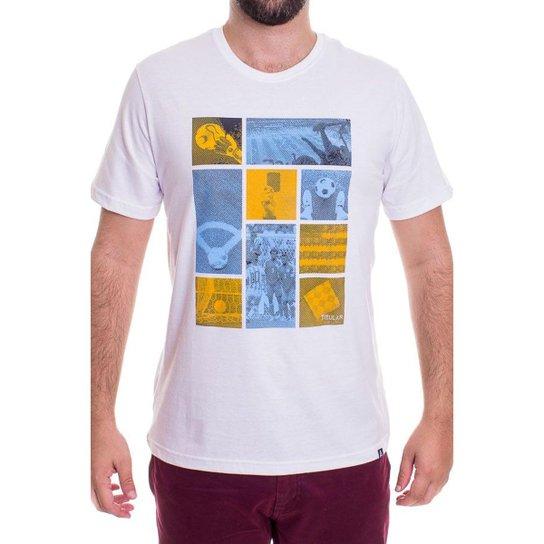 370350aa29 Camiseta Momentos Masculina - Branco - Compre Agora