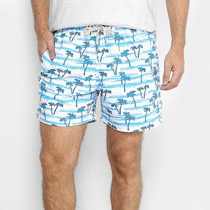 Short Shorts Co Estampado Masculino