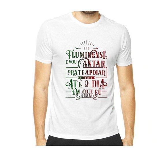 Camiseta Sou Fluminense Masculina - Branco - Compre Agora  ee99feccd978d