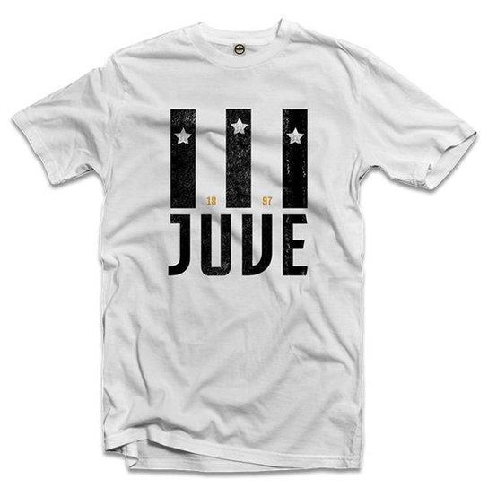 25d2c5ccd Camiseta Juventus Juve 1897 Masculina - Branco - Compre Agora