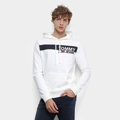 Moletom Tommy Jeans Essential Graphic Hoodie Masculino