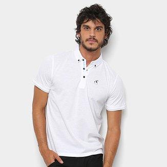 2d2c2997a64 Camisa Polo Hereford Detalhe Estampado Masculina