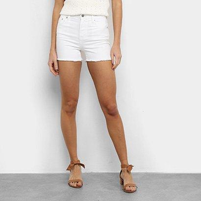 Short Jeans GAP Desfiado Feminino