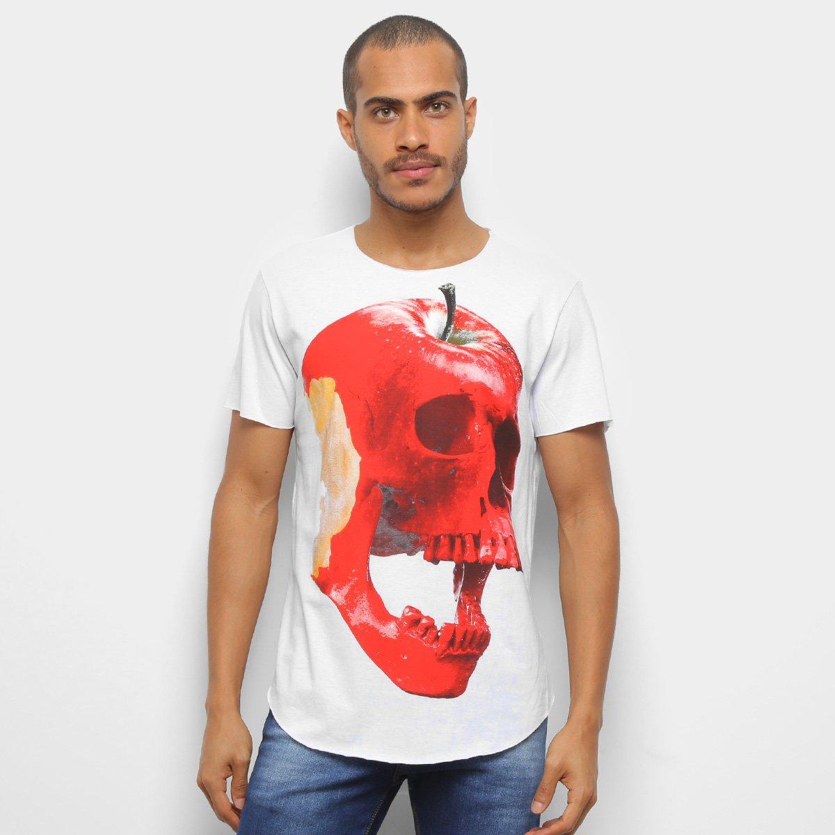 Camiseta Derek Ho Aplle Skull Masculina