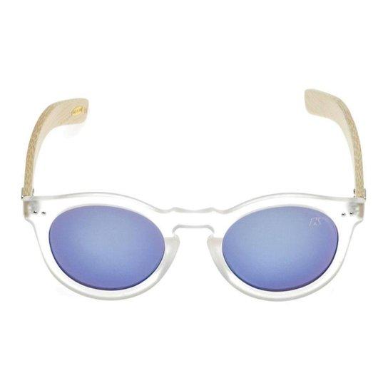 149247c1f Óculos de Sol Khatto Round Bamboo | Netshoes