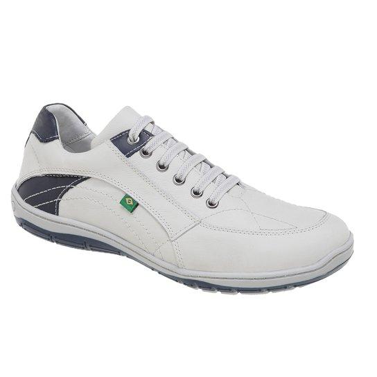 Sapatênis Azimute Brasil 5001 Casual - Branco - Compre Agora   Netshoes d3641b0d9f