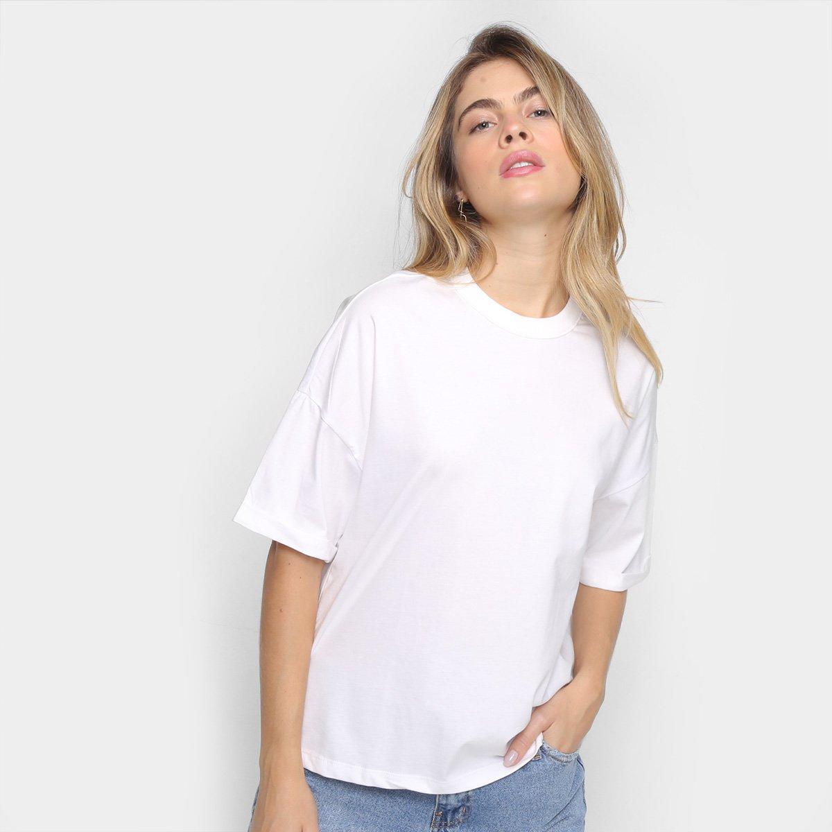 Camiseta Colcci Terra Ampla Feminina
