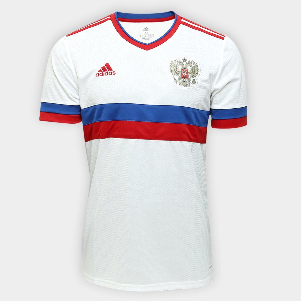 Camisa Seleção Rússia Away 20/21 s/n° Torcedor Adidas Masculina