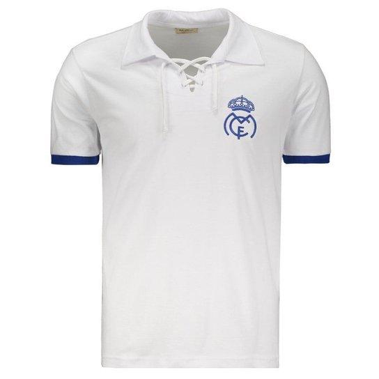 Camisa Retrômania Real Madrid 1932 - Branco - Compre Agora  871fc03fcc378