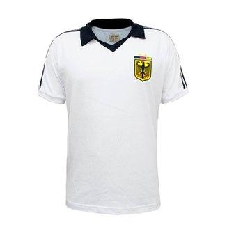3dcf0dc691 Camisa Retrô Mania Alemanha Polo Masculina