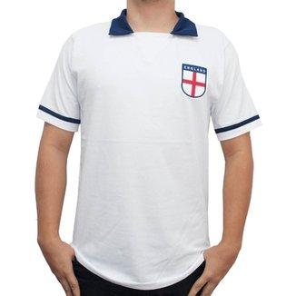 c6cdb0f856 Camisa Retrô Mania Inglaterra 1990 Masculina