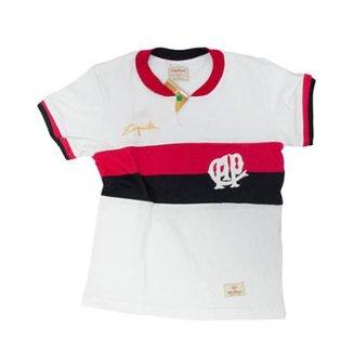 37850faf1e9b9 Camisa Retrô Mania Juvenil Athletico Paranaense 1978 Ziquita