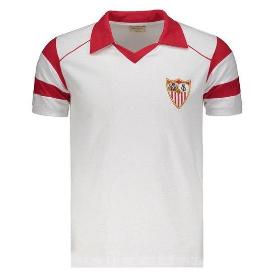 9dbb5613b7b Camisa Sevilla Retrô 1992 Masculina - Branco - Compre Agora