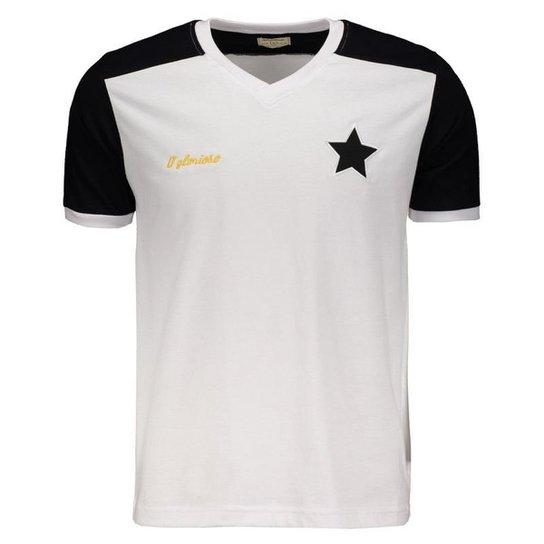 dbfb35c936 Camisa Botafogo Retrô Masculina - Branco - Compre Agora
