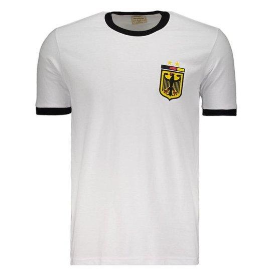 118407f5b0f38 Camisa Retrô Alemanha 1974 Masculina - Branco - Compre Agora