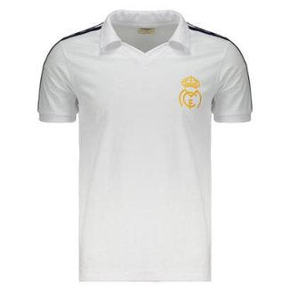 Camisa Retrômania Real Madrid 1986 Masculina 1163bb76b51cd