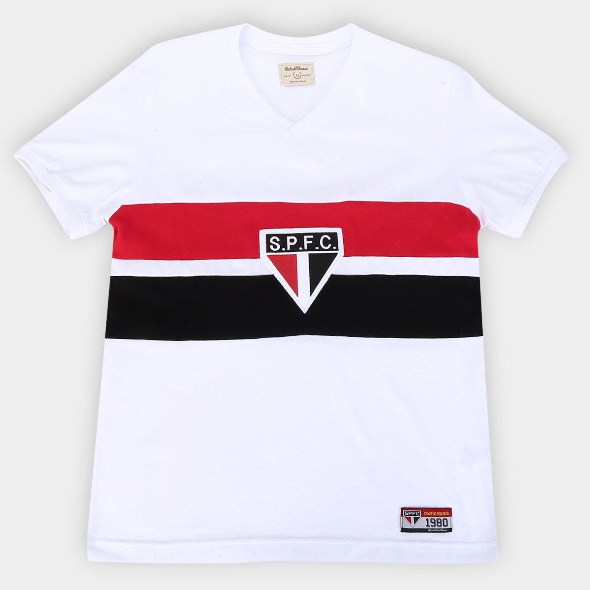 Camisa São Paulo Juvenil 1980 Retrô Mania