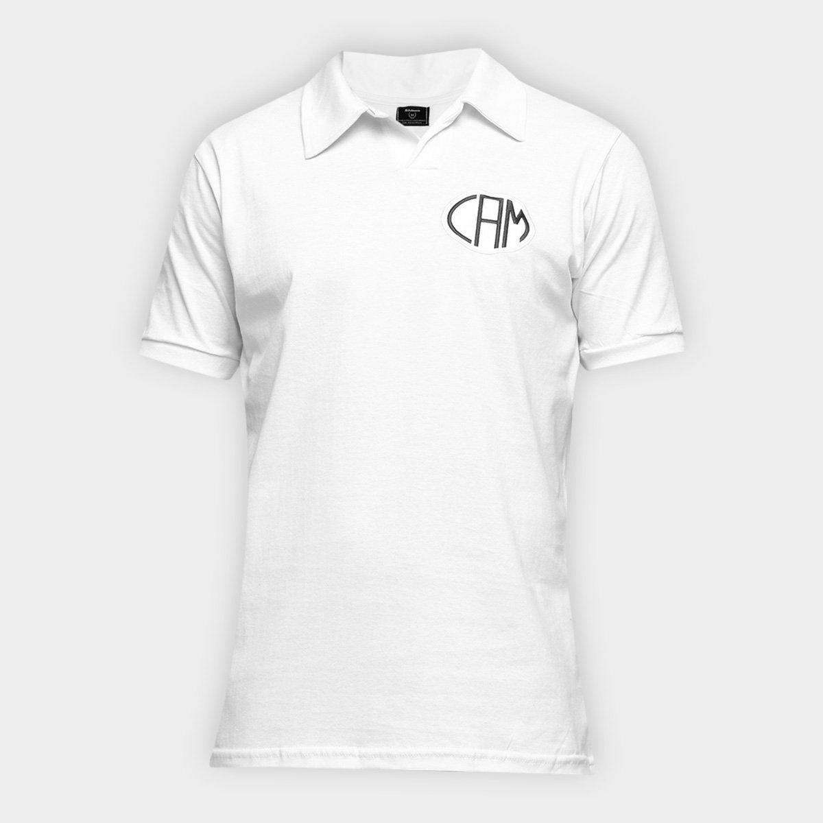 Camisa Polo Atlético Mineiro Básica Retrô Mania Masculina
