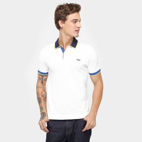 2d2671a7c7 Camisa Polo Lacoste Live Piquet Fancy - Compre Agora