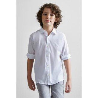 1f38ef0ea6 Camisa Masculina Infantil Mini Pf Sarjada Color Verano Reserva Mini