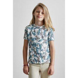 Camiseta Masculina Infantil Mini Pf Liberty Tree Reserva Mini f85c22dbede53