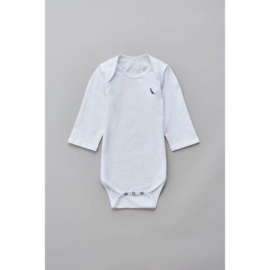 a6a94d7cfb Body Bebê Reserva Mini T Malha Básico Masculino - Branco - Compre ...