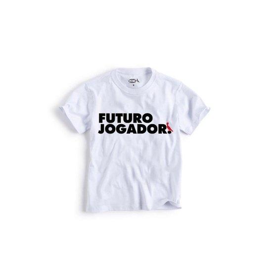Camiseta Infantil Jogador Reserva Mini Masculina - Branco - Compre ... d4fd1d2cea7dc