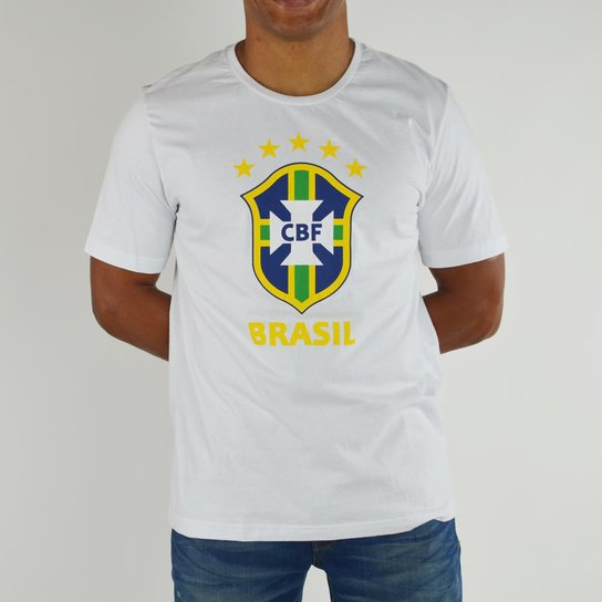 Camiseta Rozz Time Brasil CBF - Compre Agora  99fd37837a5eb