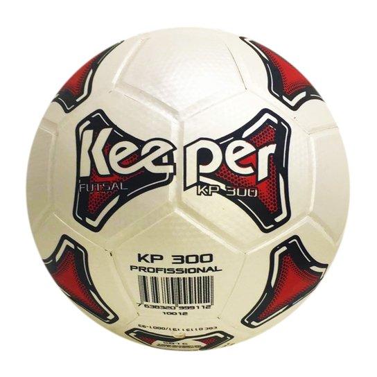 Bola Futsal Keeper 300 - Branco - Compre Agora  7c05197a7c42f