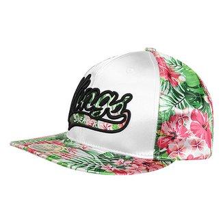 898c35a423539 Boné Kings Sneakers Especial - Flowers