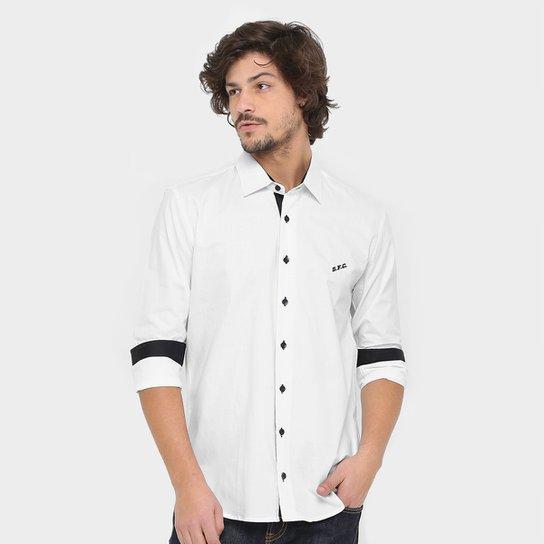 Camisa Social Santos FC I Manga Longa Masculina - Compre Agora ... 6a56d696719